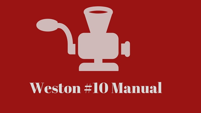 weston-#10-manual-meat-grinder-review