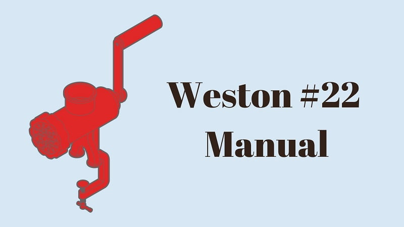 weston-#22-manual-meat-grinder-review