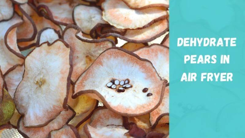 How-to-Dehydrate-Pears-In-An-Air-Fryer